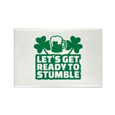 Let's get ready to stum Rectangle Magnet (10 pack)