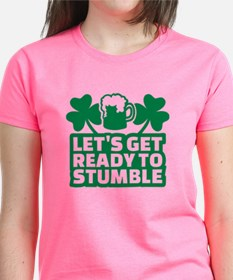 Let's get ready to stumble be Tee
