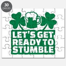 Let's get ready to stumble beer shamrocks Puzzle