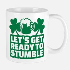 Let's get ready to stumble beer shamroc Mug