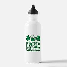 Let's get ready to stu Water Bottle