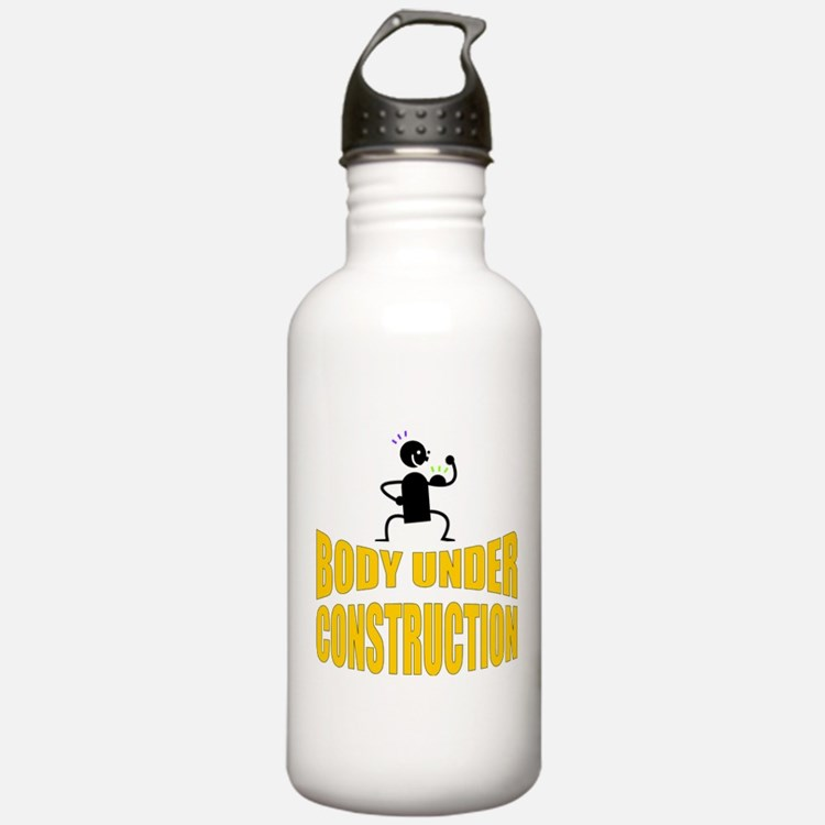 Body Under Construction Water Bottle
