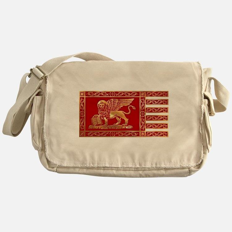 venetian flag Messenger Bag