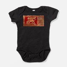 venetian flag Baby Bodysuit