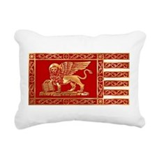 Venice flag Rectangular Canvas Pillow