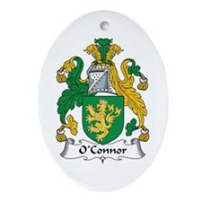 O'Connor (Kerry) Oval Ornament