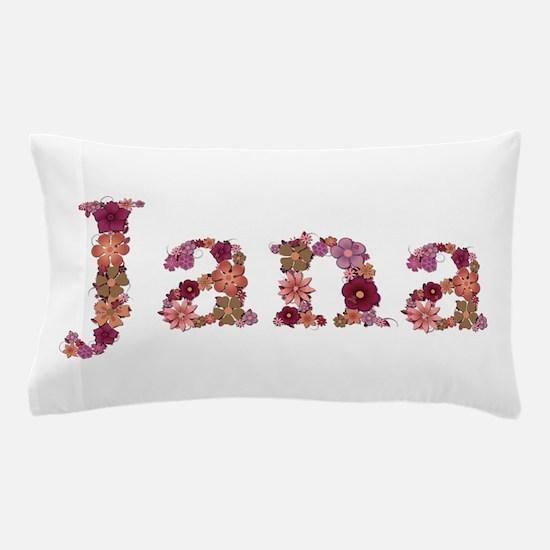 Jana Pink Flowers Pillow Case