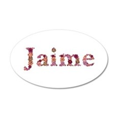 Jaime Pink Flowers Wall Decal
