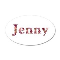 Jenny Pink Flowers Wall Decal