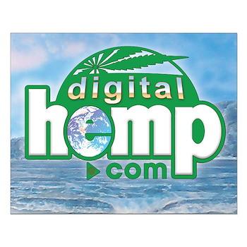 Digitalhemp.com Small Poster