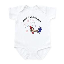 Happy Labor Day Infant Bodysuit