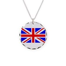 British Flag Necklace