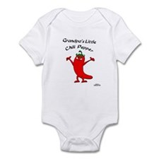 Grandpa's Little Chili Pepper Infant Bodysuit