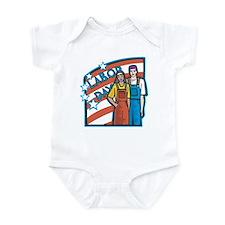 Labor Day Infant Bodysuit