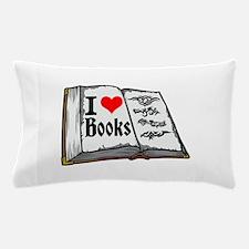 I heart books Pillow Case