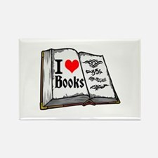 I heart books Magnets