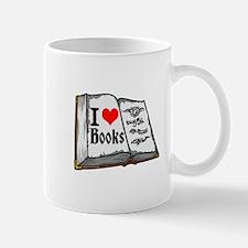 I heart books Mugs