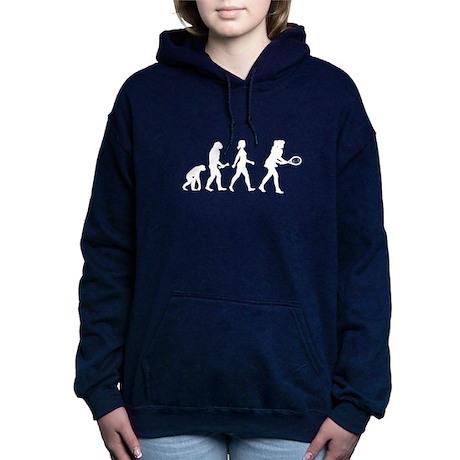 Female Tennis Player Evolution Hooded Sweatshirt