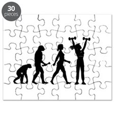 Female Weightlifter Evolution Puzzle