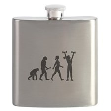 Female Weightlifter Evolution Flask