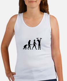 Female Weightlifter Evolution Tank Top