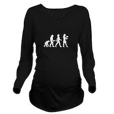 Waitress Evolution Long Sleeve Maternity T-Shirt