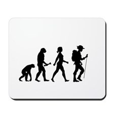 Female Hiker Evolution Mousepad