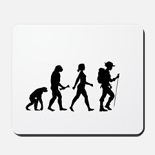 Female Hiker Evolution Mousepad