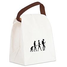 Female Hiker Evolution Canvas Lunch Bag