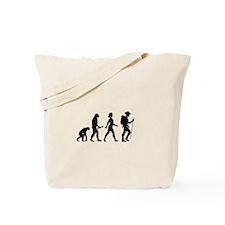 Female Hiker Evolution Tote Bag