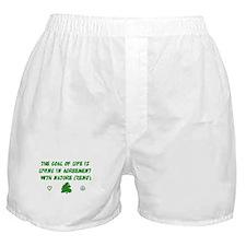 Earth Day Nature T-Shirt Boxer Shorts
