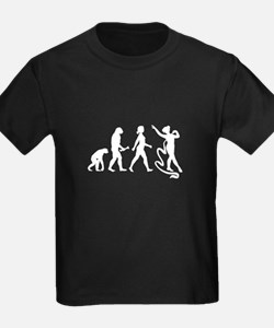 Ribbon Gymnast Evolution T-Shirt