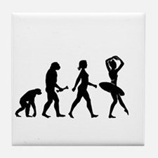 Ballerina Evolution Tile Coaster