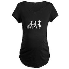 Ballerina Evolution Maternity T-Shirt