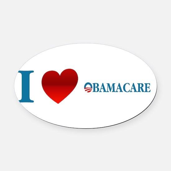 Cute Obamacare Oval Car Magnet