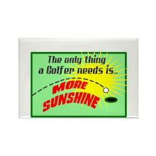 A Golfer Needs Sunshine Magnets