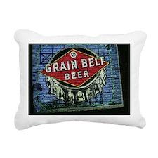 grain belt Rectangular Canvas Pillow
