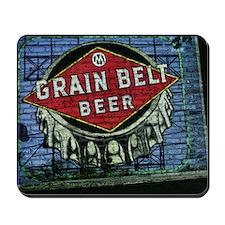 grain belt Mousepad