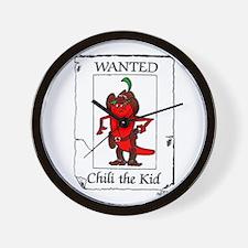 Chili the Kid Wall Clock