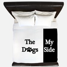 The Dogs Side King Duvet