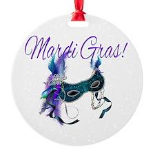 Mardi Gras Carnival Ornament