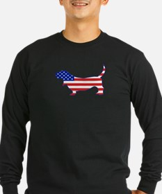 American Basset Long Sleeve T-Shirt