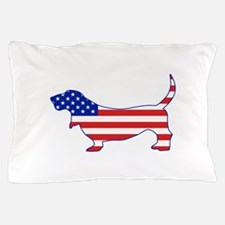 American Basset Pillow Case