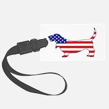 American Basset Luggage Tag