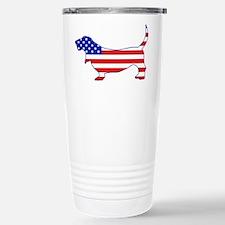 American Basset Travel Mug