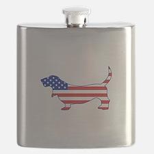 American Basset Flask