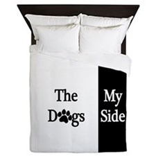 The Dogs Side Queen Duvet