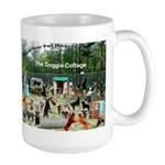 Doggie Cottage Large Mug