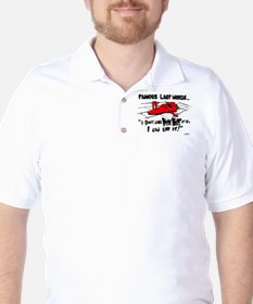 Famous Last Words Golf Shirt