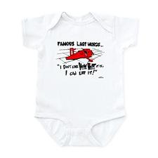 Famous Last Words Infant Bodysuit